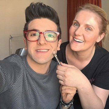 @barone_piero Instagram lookin' good - makeup for red carpet appearance - Eurovision - Vienna - 2015