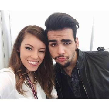 @erikabarbato Ignazio and fan - Vienna - 2015