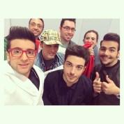 @escitalia Il Volo and fans - Vienna - 2015