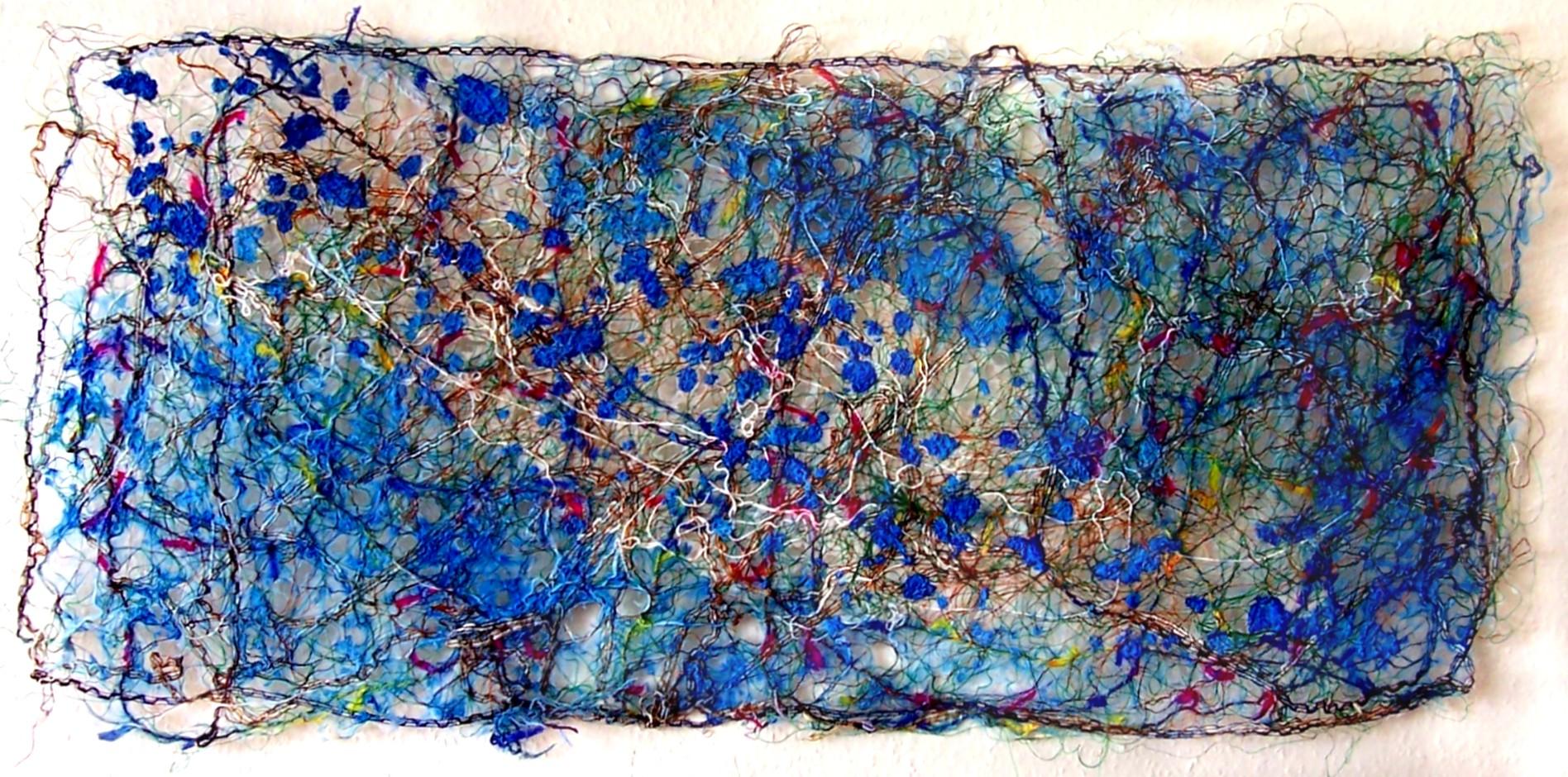 Tekstil Collage