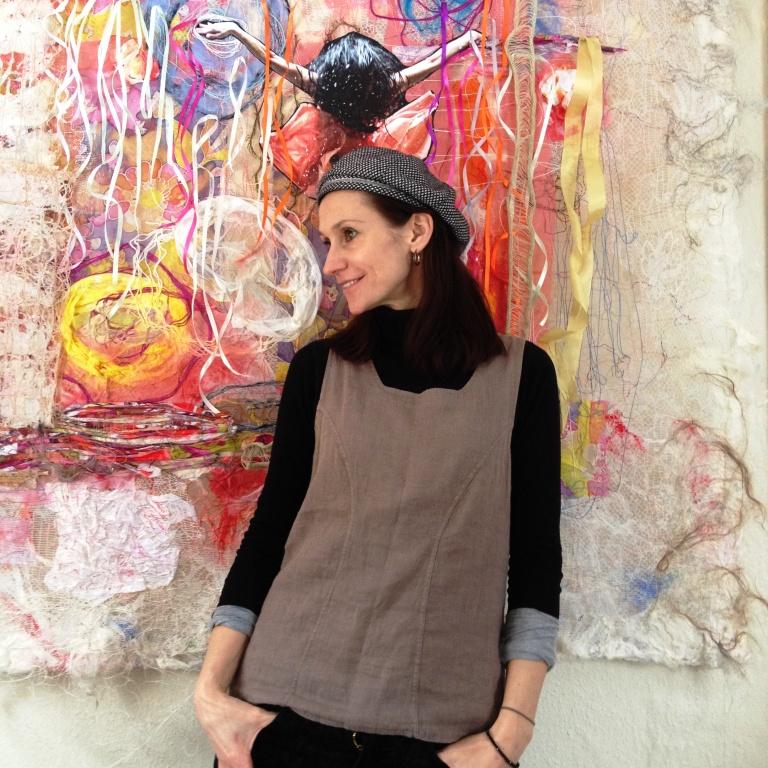 Tekstilkunstner Ilze Rudzite