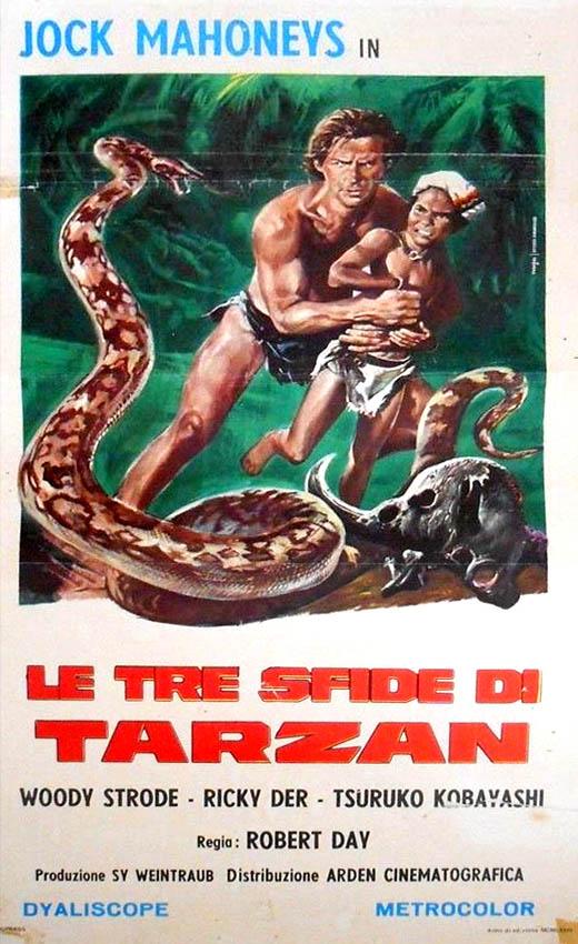 Le tre sfide di Tarzan (1963)