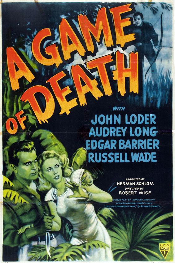 A Game of Death (1945) Fotocopia Zaroff