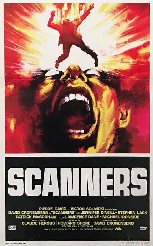 Scanners (1981) 35 anni di scansioni