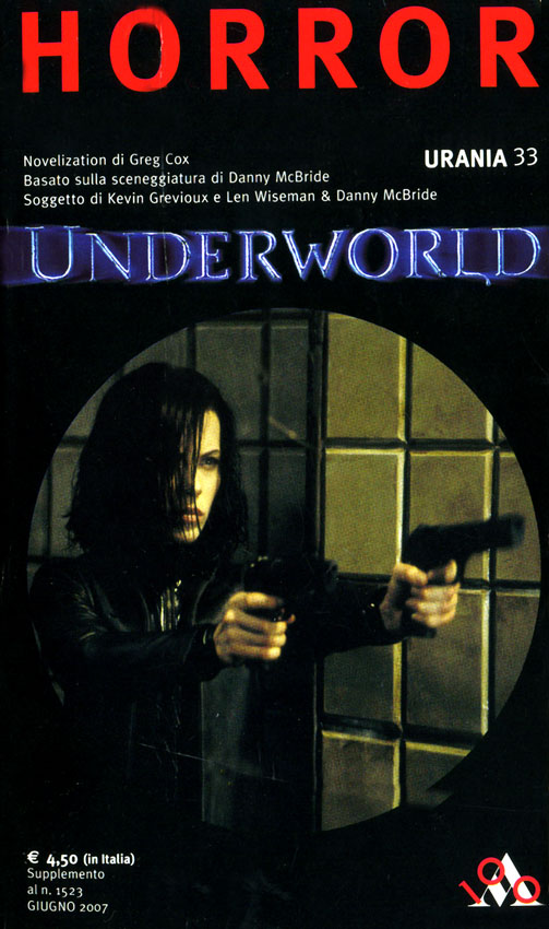 [Novelization] Underworld (2003)