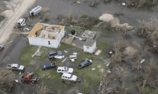 Barbuda has been left barely inhabitable, according to officials.