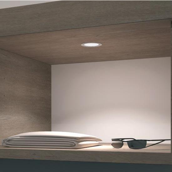 Cabinet Lighting Hafele Loox 24V LED 3001 Round Puck