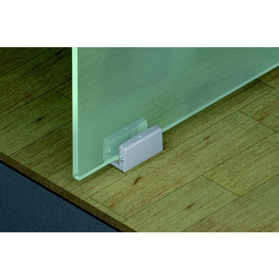 Sliding Door Hardware Hafele Porta 100 GW Fitting Set Top Hung System For Surface Mounted Or