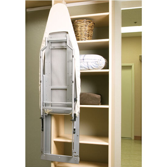 Multi Drawers Wooden Ironing Board With Cabinet