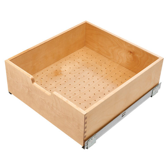 24 Unfinished Drawer Base Cabinet