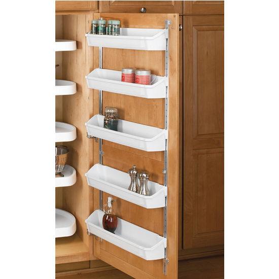 rev-a-shelf five shelf kitchen door storage sets | kitchensource
