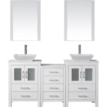 dior double sinks bathroom vanity set