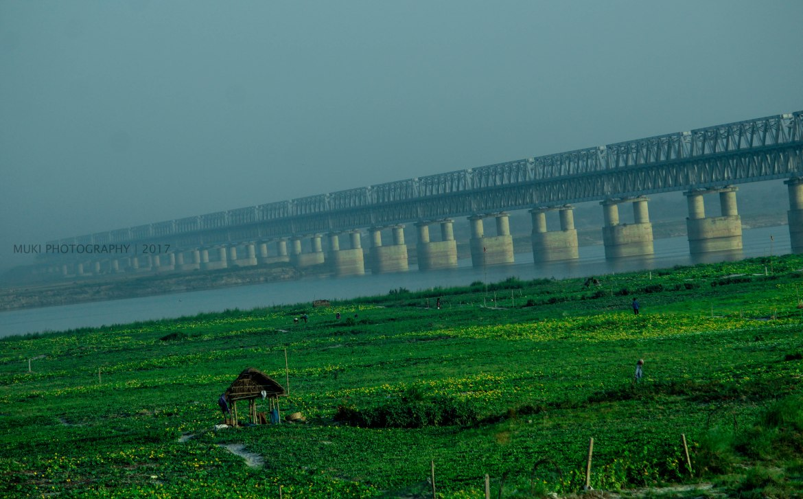 Munger Ganga Bridge: A perfect scenery in the countryside