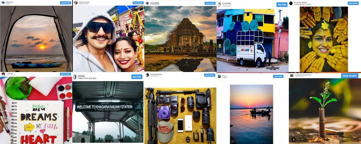 10 featured Instagrammers from Munger,Bihar