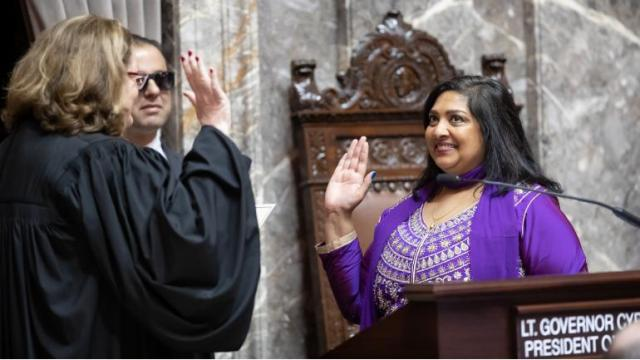 Mona das Says : It's official, I am honored to serve in the Washington State Senate for the 47th district!
