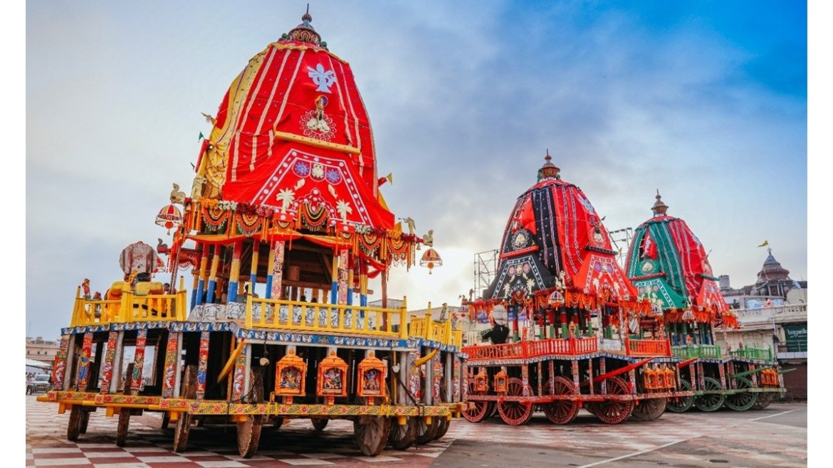 The Rath Yatra of Jagannath Puri, Odisha