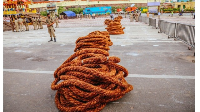 Rope used for Chariots of Lord Jagannatha