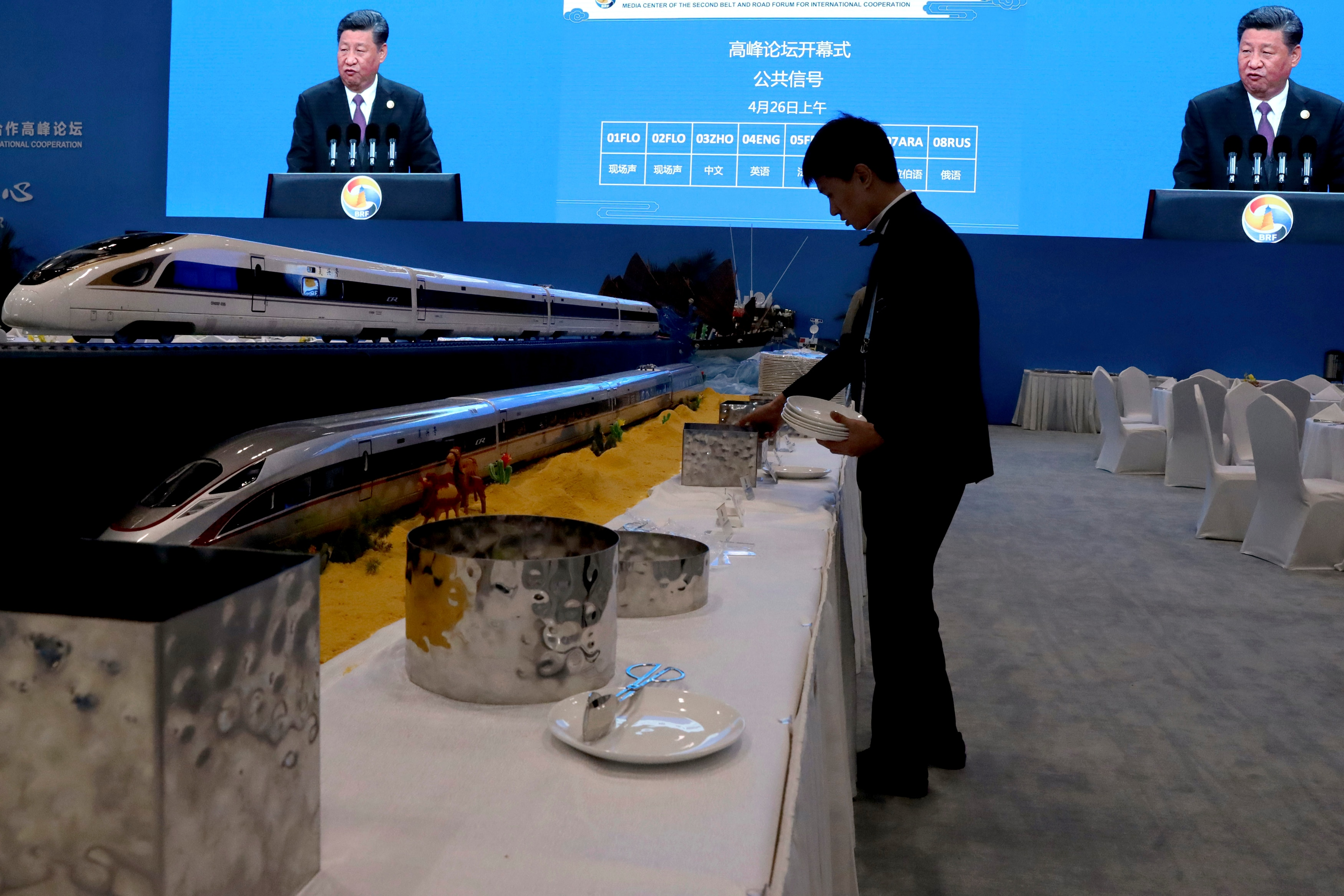 Photo of China Plows Ahead with High-Speed Rail Line for Southeast Asia