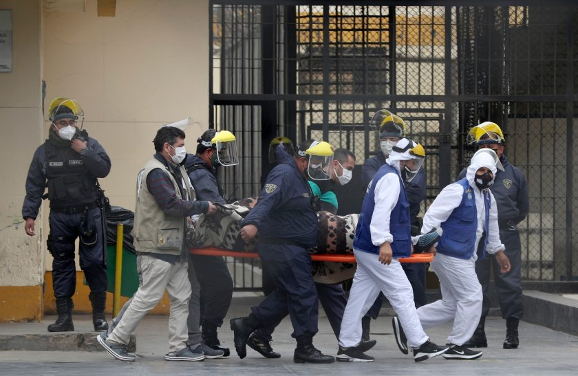Inmates in Peru's Largest Prison Help Authorities Identify Others Infected  by Coronavirus | Voice of America - English