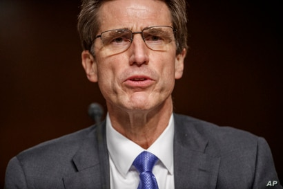 Department of Defense chief information officer Dana Deasy testifies before the Senate Armed Services Committee hearing on the…