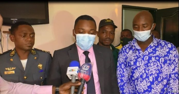 Harouna Nyandji Mgbatou is a senior government official, a division officer, in the first district of Yaounde on July 22, 2021.  (Moki Edwin Kindzeka/VOA)