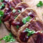 BBQ Seitan Steak