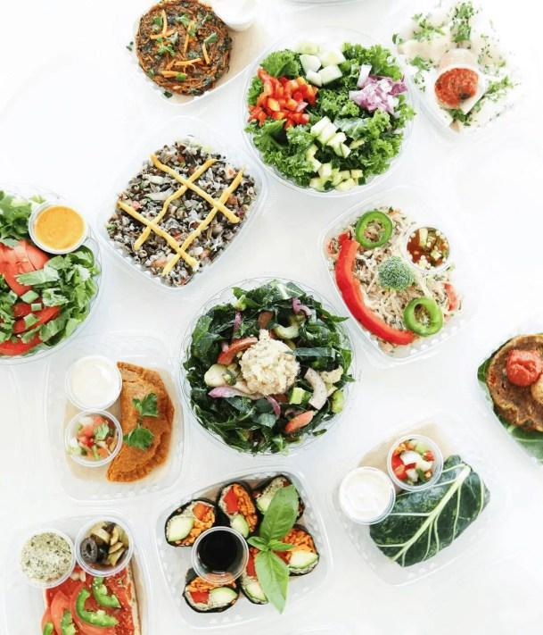 Chicago Raw vegan food