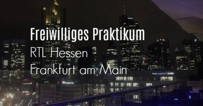 Praktikum RTL Hessen