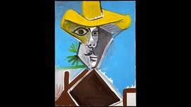 Picasso's 'Buste d'Homme' (1969) sold for $9.5m