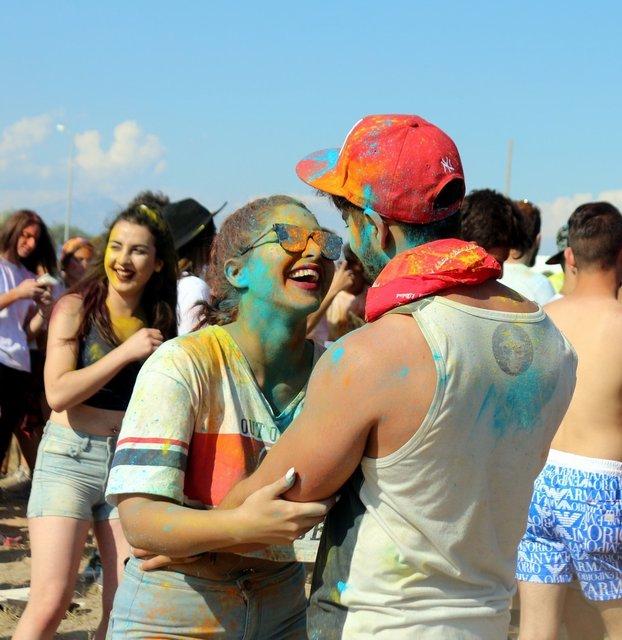 """Antalya'da """"Dream of Color Fest"""" etkinliğinde renkli görüntüler!"""