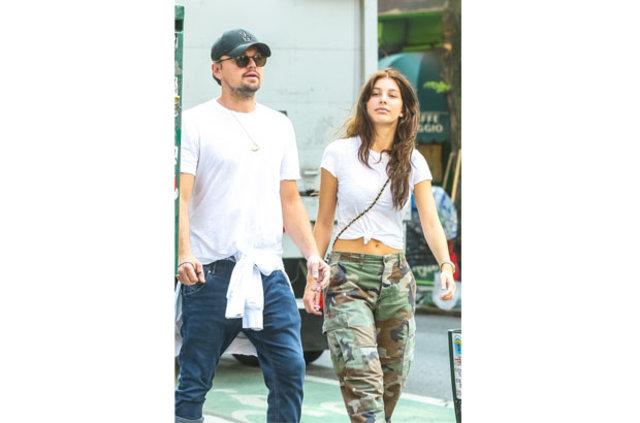 Leonardo DiCaprio ile yeni sevgilisi Camila Morrone aşklarını artık gizlemiyor