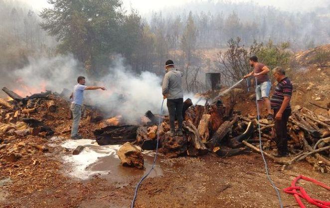 SON DAKİKA: Isparta'da yangın! Isparta Sütçüler'deki yangın genişliyor 14