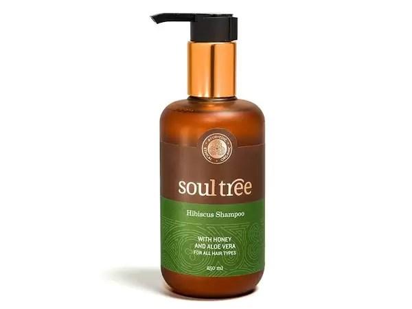 SoulTree Hibiscus Shampoo with Honey & Aloe Vera