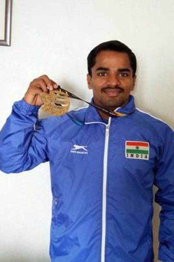 Gururaja Claims Silver In Mens 56kg Weightlifting