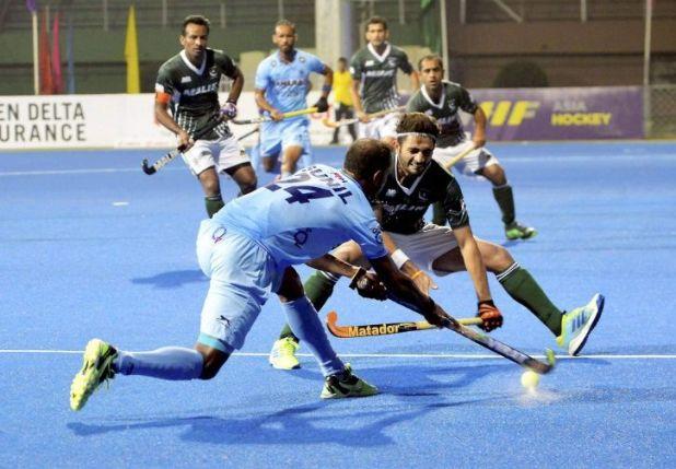 India and Pakistan drew 2-2.