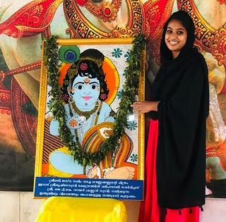 Jasna Salim Krishna Painting