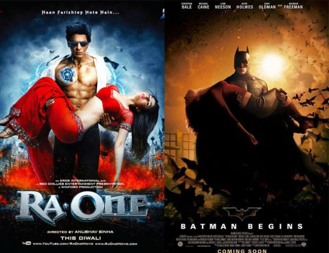 exact copies of hollywood movie posters