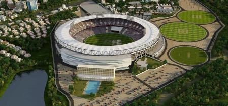 proud moment sardar patel stadium to become world s largest with a seating capacity of 110k
