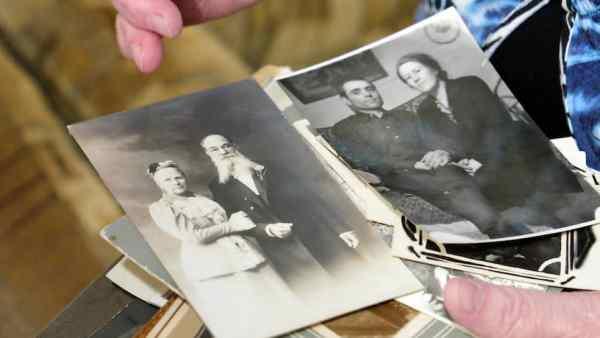 Родители Алисы Мейсснер Анна Рихардовна и Леонид Федорович и ее родственники