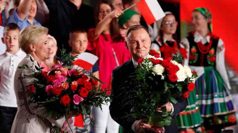 Acting President of Poland Andrzej Duda