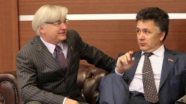 Ильшат Аминов (справа) и Андрей Григорьев по-разному видят судьбу поправки Госсовета
