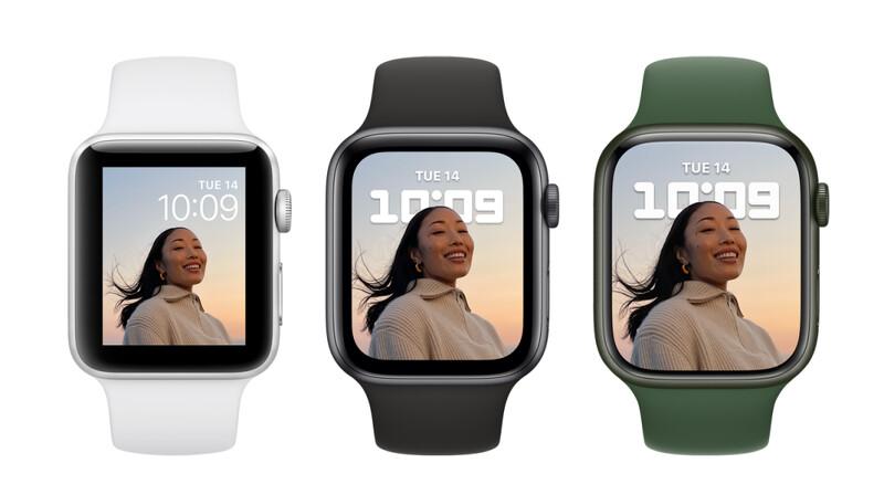 Apple Watch Series 7登場!大螢幕、鋁金屬錶殼等亮點及開賣日期揭曉| Marie Claire 美麗佳人
