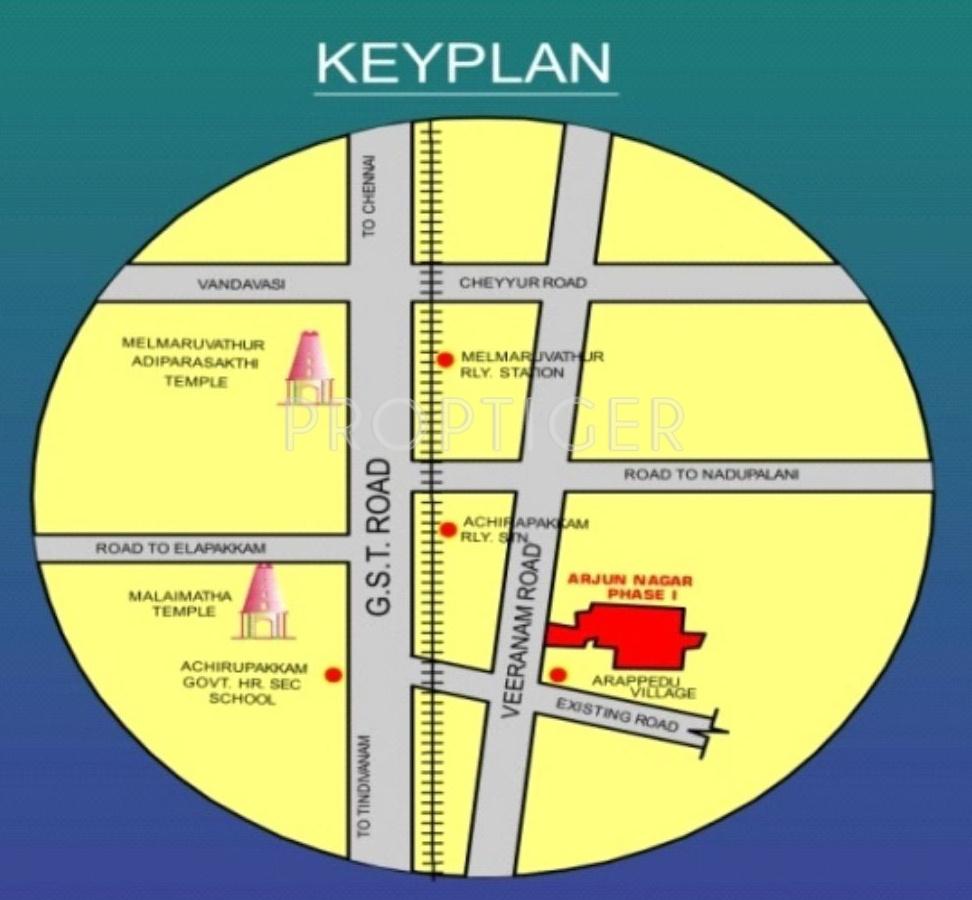 Greenworld Arjun Nagar Phase 1 In Acharapakkam Chennai