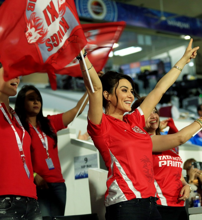Image result for preity zinta ipl