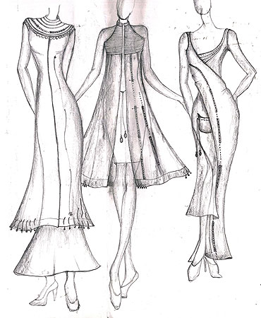 Vaishali shares some of her sketches
