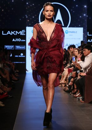 5 reasons to be excited about Lakme Fashion Week 2018   Rediff com     Anjali Lama