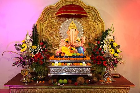 Must see  Ganpati celebrations at Mumbai s oldest pandal   Rediff     IMAGE  The celebrations at the Keshavji Naik Chawl could be the answer to  Mumbai s dire need for eco friendly Ganeshas