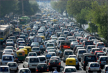 Image result for traffic in mumbai