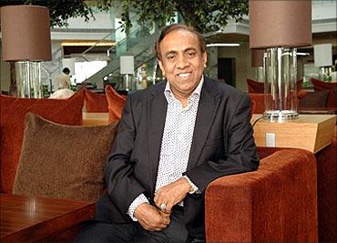 Ravi Pillai, founder-managing director of Naseer S Al Hajri Corporation, and Petrochem, Saudi Arabia.