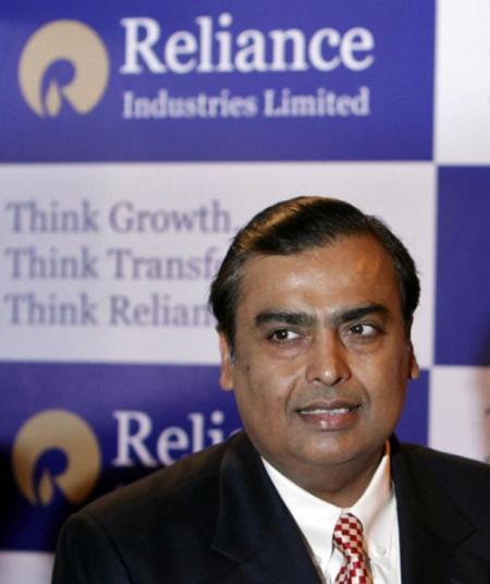 RIL Chairman Mukesh Ambani.